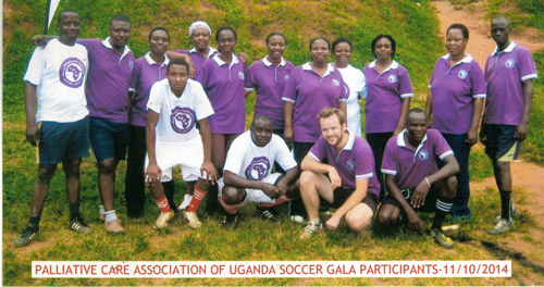 APCA competes in World Hospice and Palliative Care Day 'Soccer Gala'