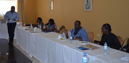 Organisation development training for APCA staff